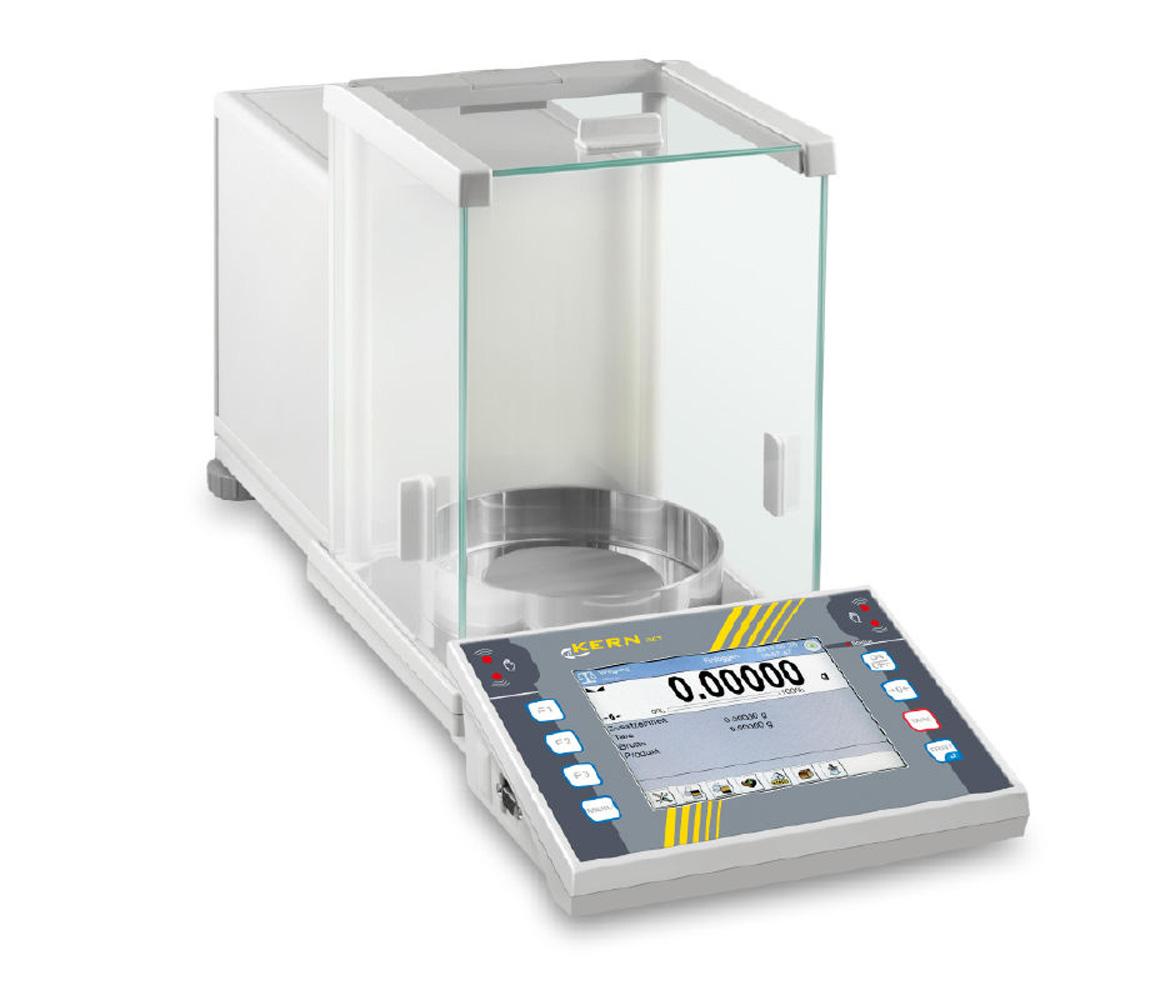 Premium Touchscreen-Analysenwaage mit dem kompletten Funktionsumfang für anspruchsvolle Prozesse