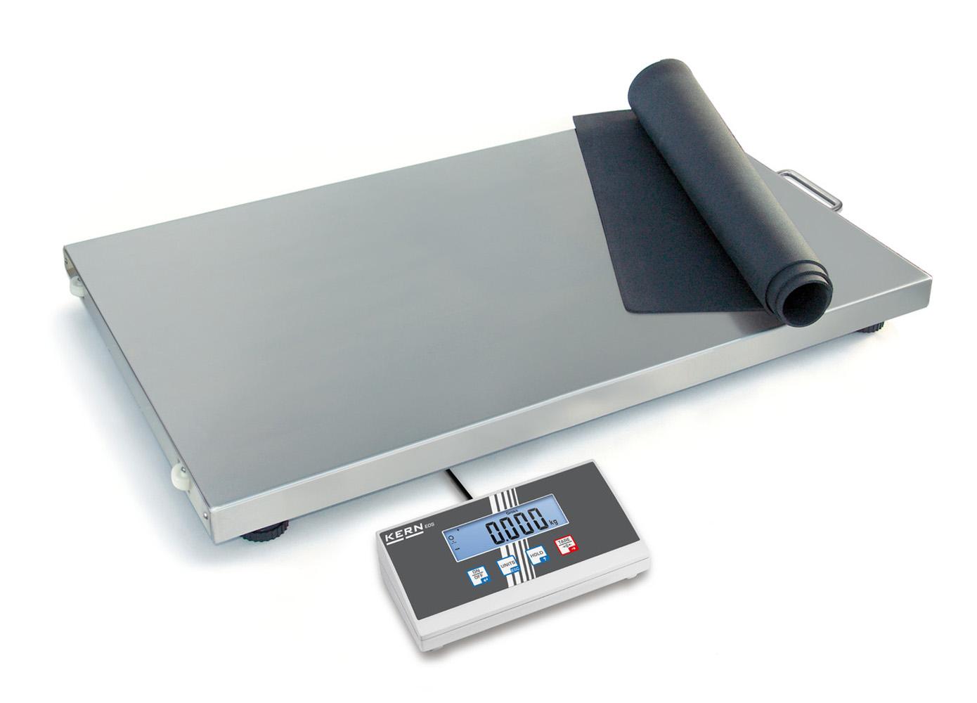 Der Klassiker unter den Paket- und Veterinärwaagen - auch mit XL-Plattform und großen Wägebereichen