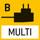 Universal-Netzadapter: mit Universaleingang und optionalen Eingangsstecker-Adaptern für EU, GB, USA