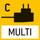 Universal-Netzadapter: mit Universaleingang und optionalen Eingangsstecker-Adaptern für EU, GB, USA, AUS