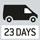 Paketversand per Kurierdienst. Versandbereit in 23 Tagen