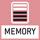 Memory: Waageninterne Speicherplätze, z. B. Taragewichte, Wägedaten, Artikeldaten, PLU etc.