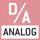 Schnittstelle Analog:  zum Anschluss eines geeigneten Peripheriegerätes zur analogen Messwertverarbeitung