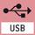Datenschnittstelle USB: Zum Anschluss der Waage an Drucker, PC oder andere Peripheriegeräte.