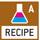 Rezeptur-Level A: Getrennte Speicher für das Gewicht des Taragefäßes und der Rezeptur-Bestandteile (Netto-Total).