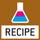 Rezeptur: Getrennte Speicher für das Gewicht des Taragefäßes und der Rezeptur-Bestandteile (Netto-Total).
