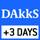 DAkkS-Kalibrierung möglich(DKD): Die Dauer der DAkkS-Kalibrierung in Tagen ist im Piktogramm angegeben.